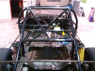 Rear stripped